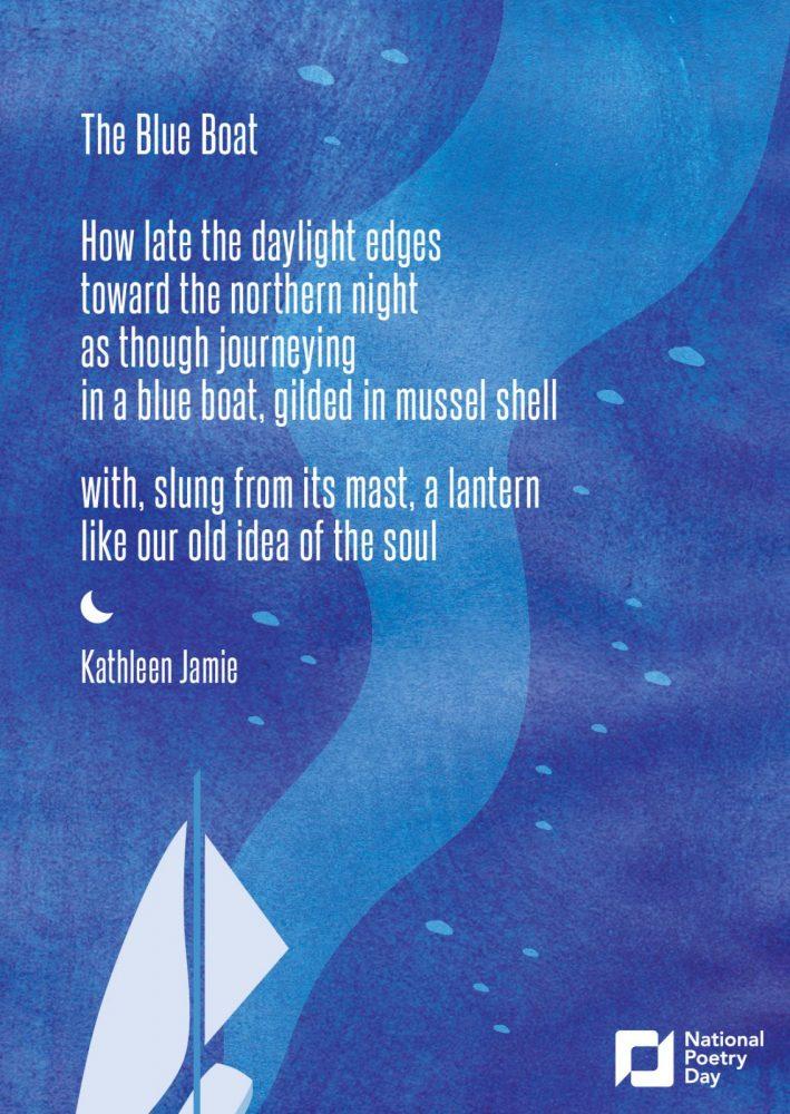 sailing boat postcard